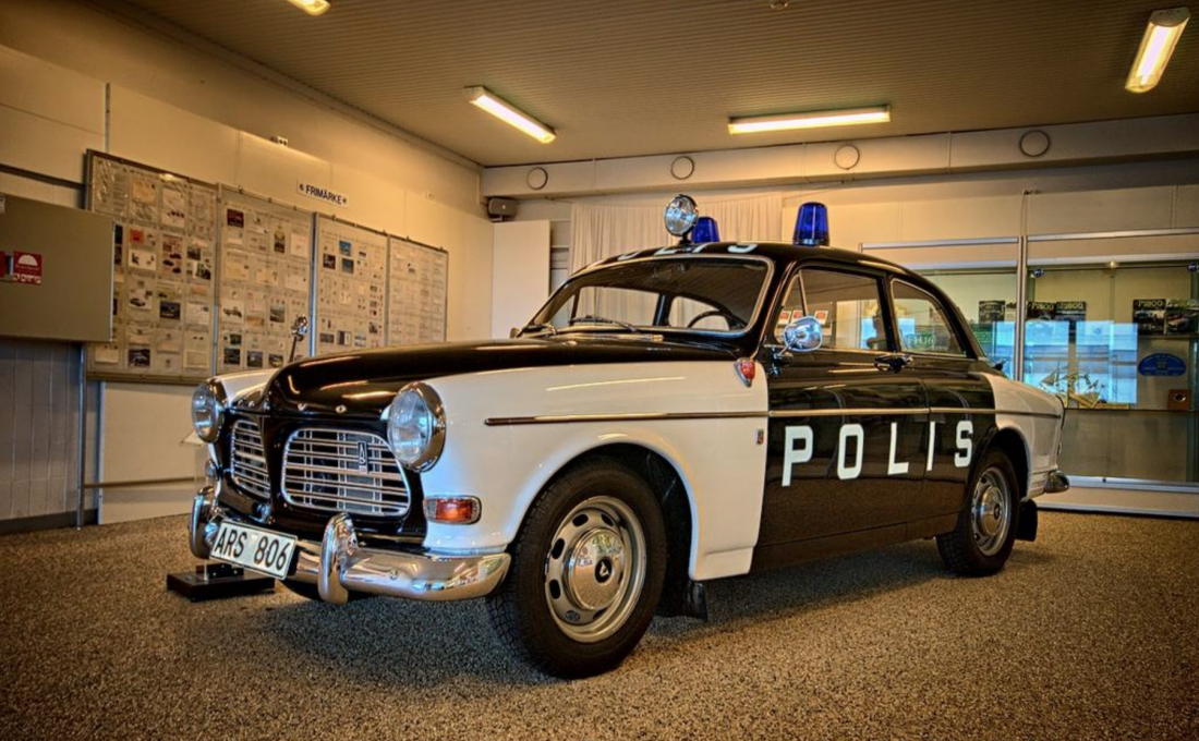 Volvo Amazon Polizei