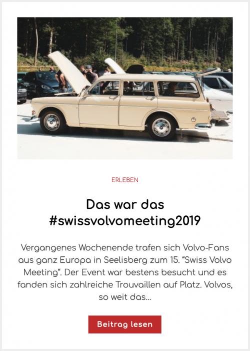 Das war das #swissvolvomeeting2019