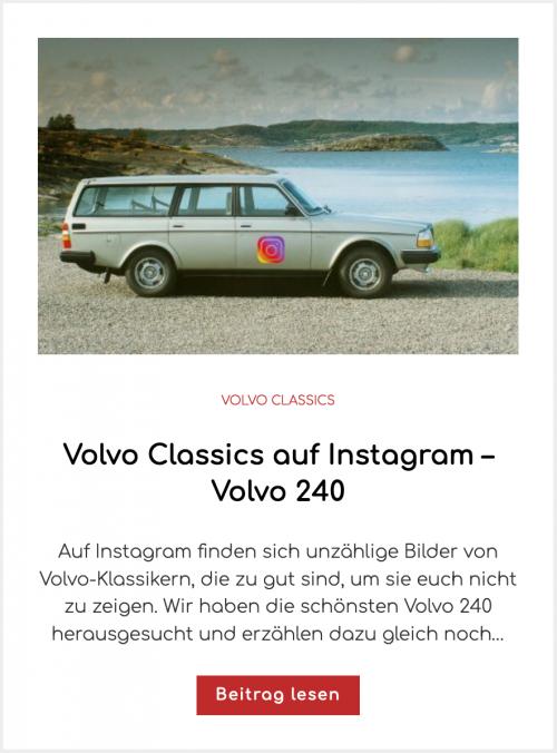 Volvo Classics auf Instagram – Volvo 240
