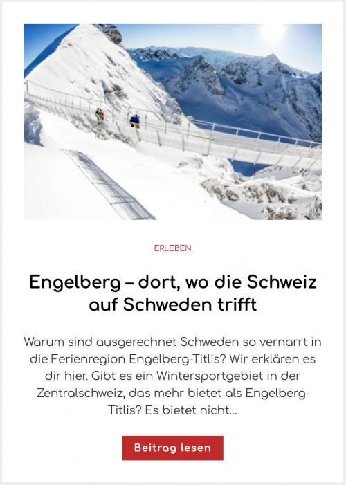 Engelberg – dort, wo die Schweiz auf Schweden trifft