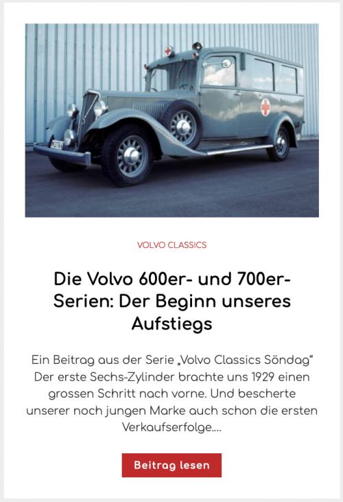 Die Volvo 600er- und 700er-Serien: Der Beginn unseres Aufstiegs