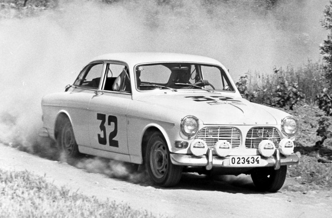Carl-Magnus Skogh 1965 Volvo 122S Akropolis-Rallye Griechenland