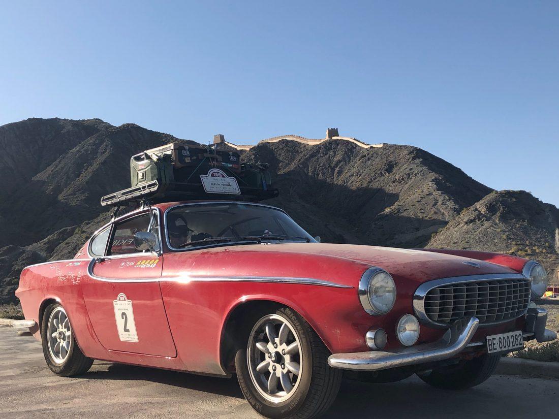 Silk Road Rallye – In 52 Tagen mit einem Volvo P1800 nach China