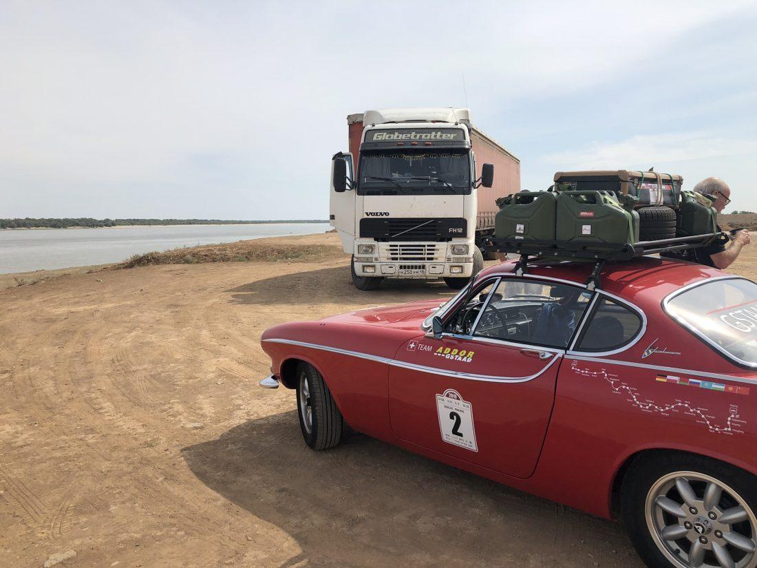 Silk Road Rallye Volvo P1800