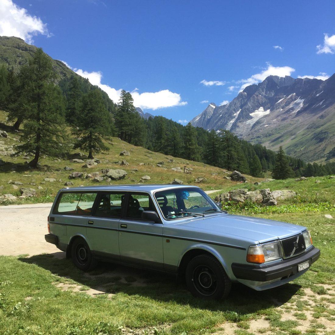 Petra Rudnik et sa Volvo 240 Classic: Viggo le Magnifique