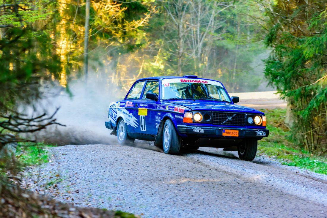 South Swedish Rally race