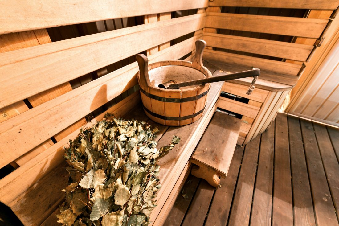 Schweden Sauna: das heiss-kalte Gruppenerlebnis