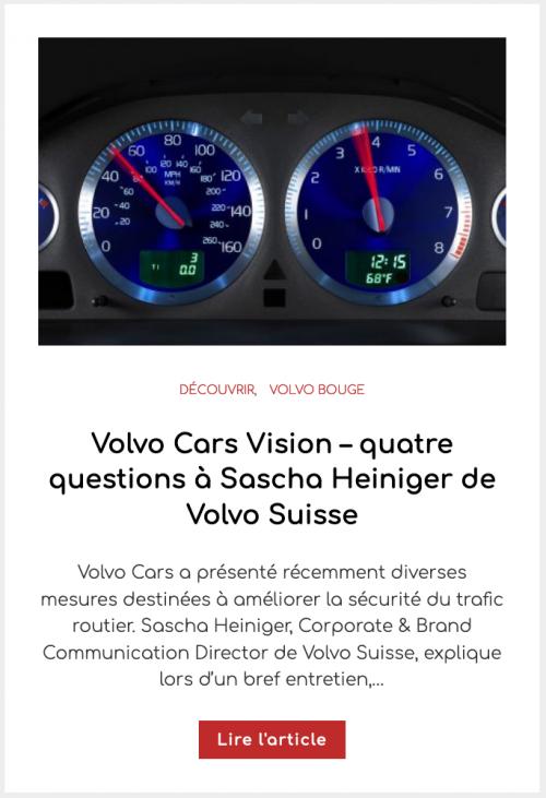 Volvo V90 – toujours un excellent choix