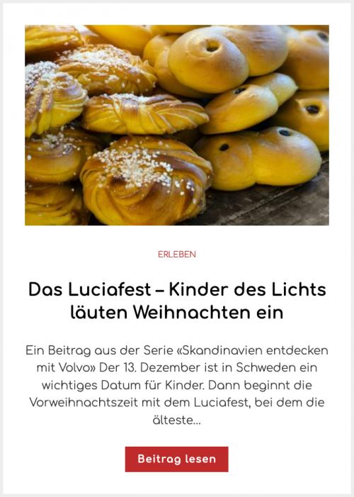 Das Luciafest – Kinder des Lichts läuten Weihnachten ein
