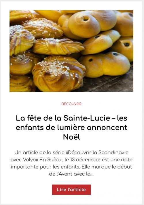 La fête de la Sainte-Lucie – les enfants de lumière annoncent Noël