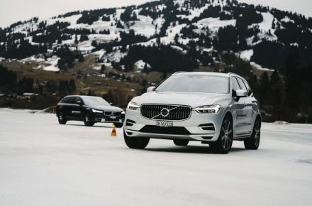 Volvo_Winterfahrtraining_Gstaad_1