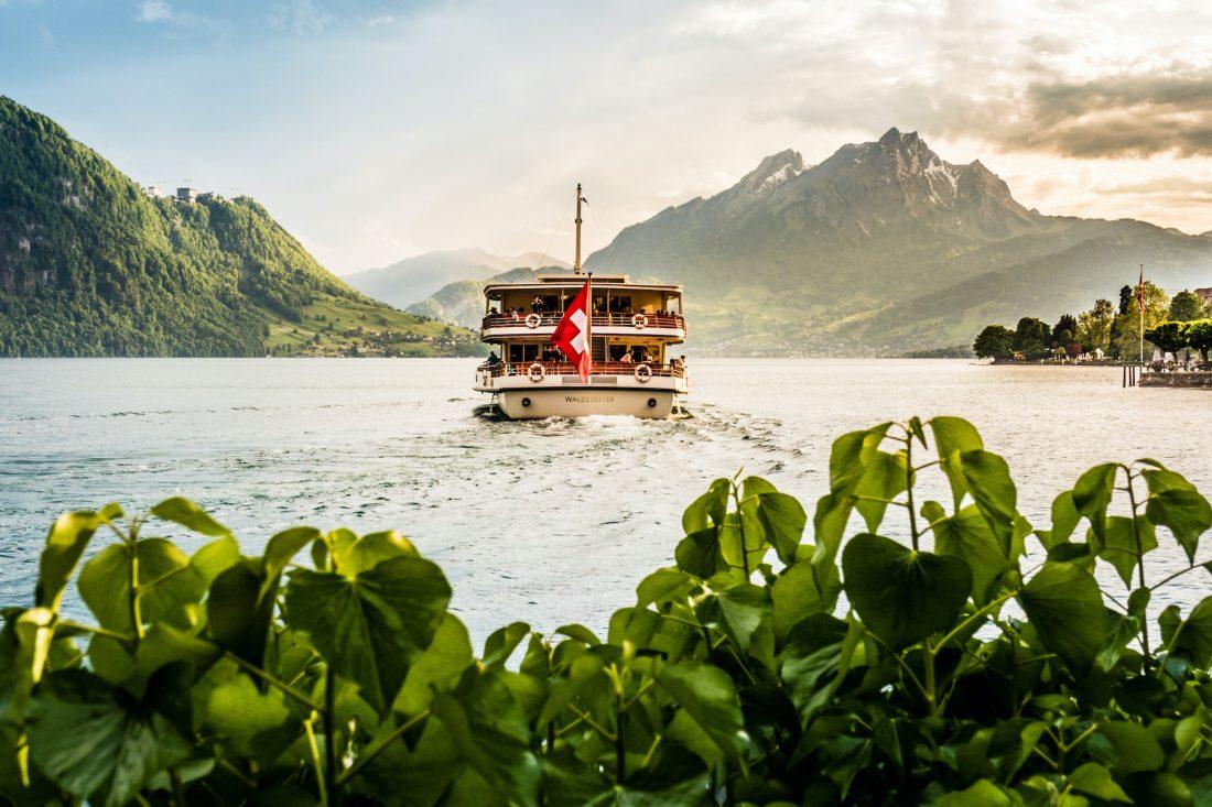 Bürgenstock Resort Lake Lucerne Fantastiska Stopp Volvo