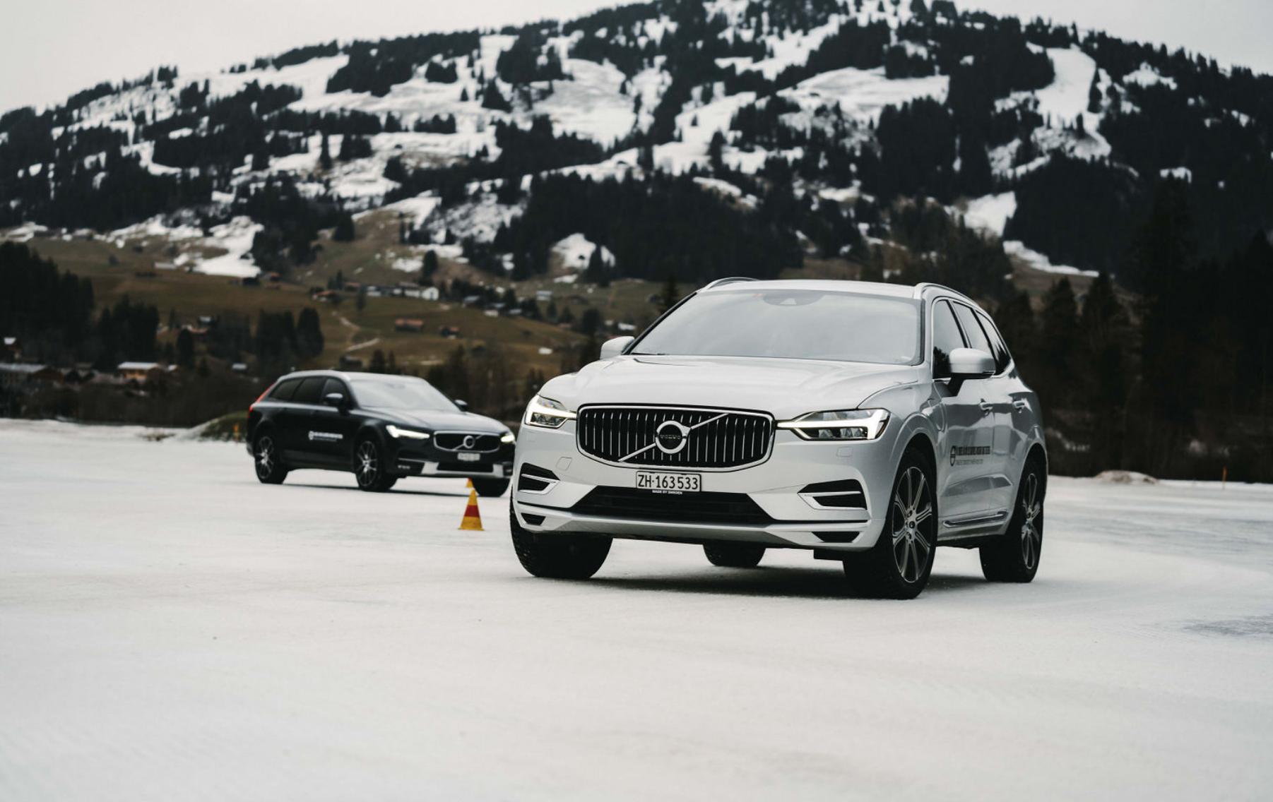 Inmitten schönster Alpenwelt fand das Fahrtraining statt.