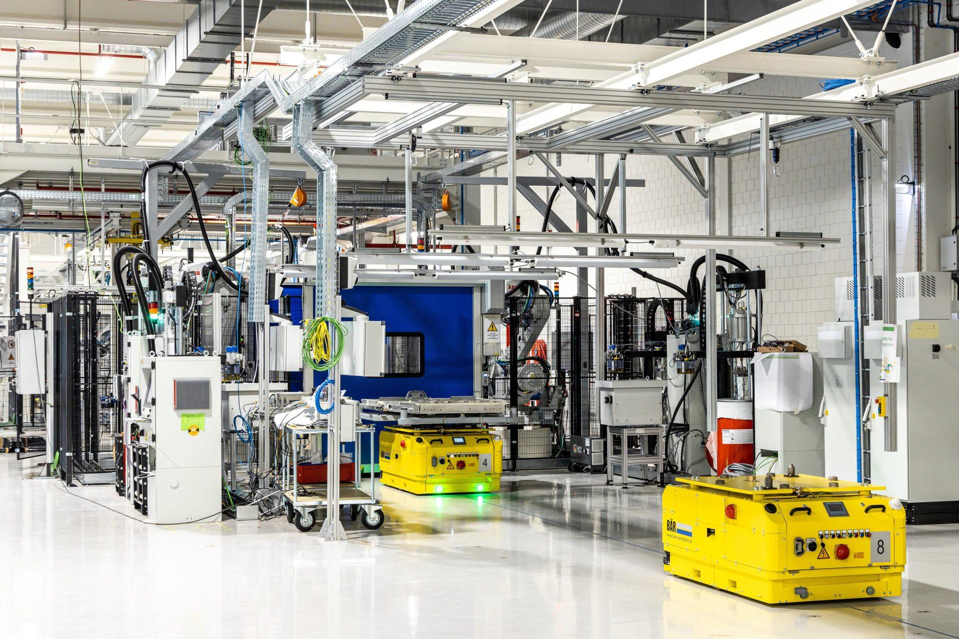 Volvo Werk in Gent/Belgien – Batteriemontage