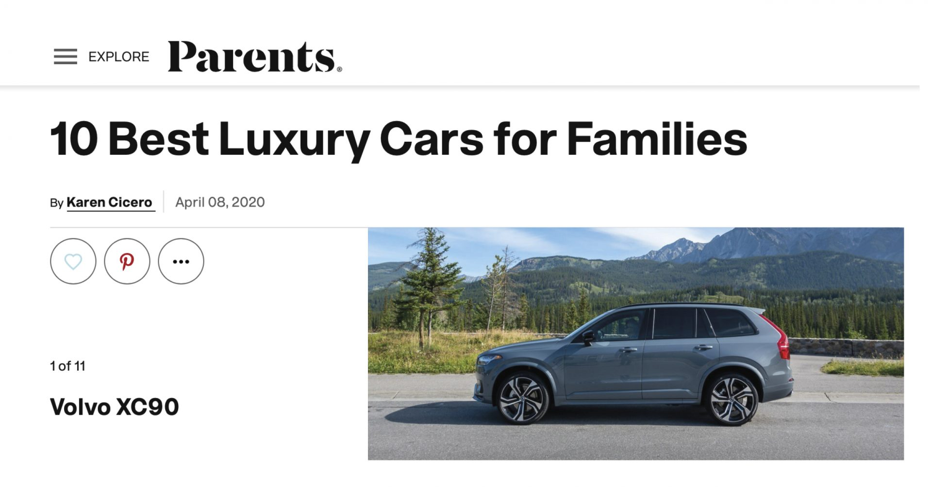 Parents_Best_LuxuryCar_Family_Volvo_XC90