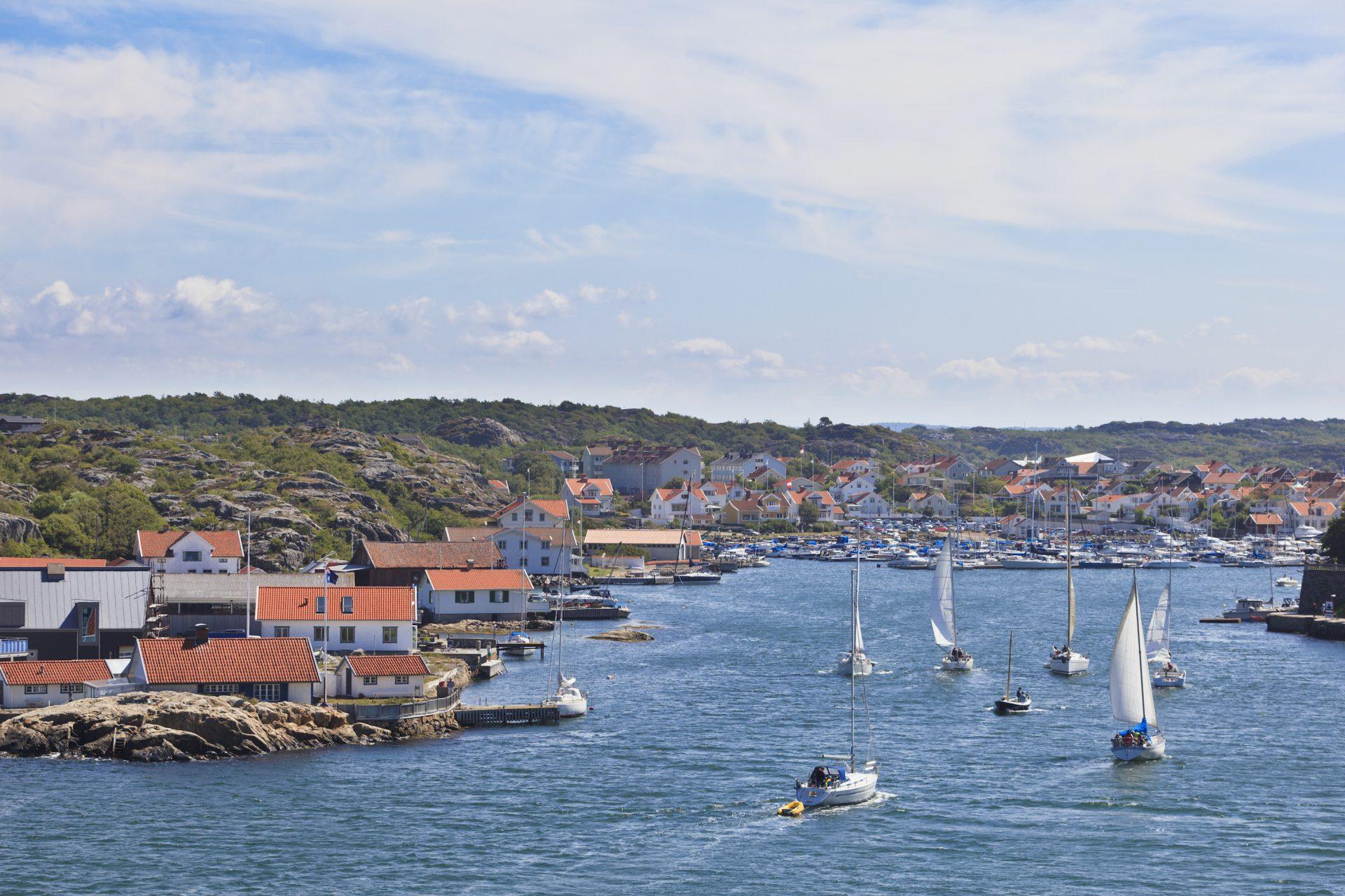 Marstrand harbour