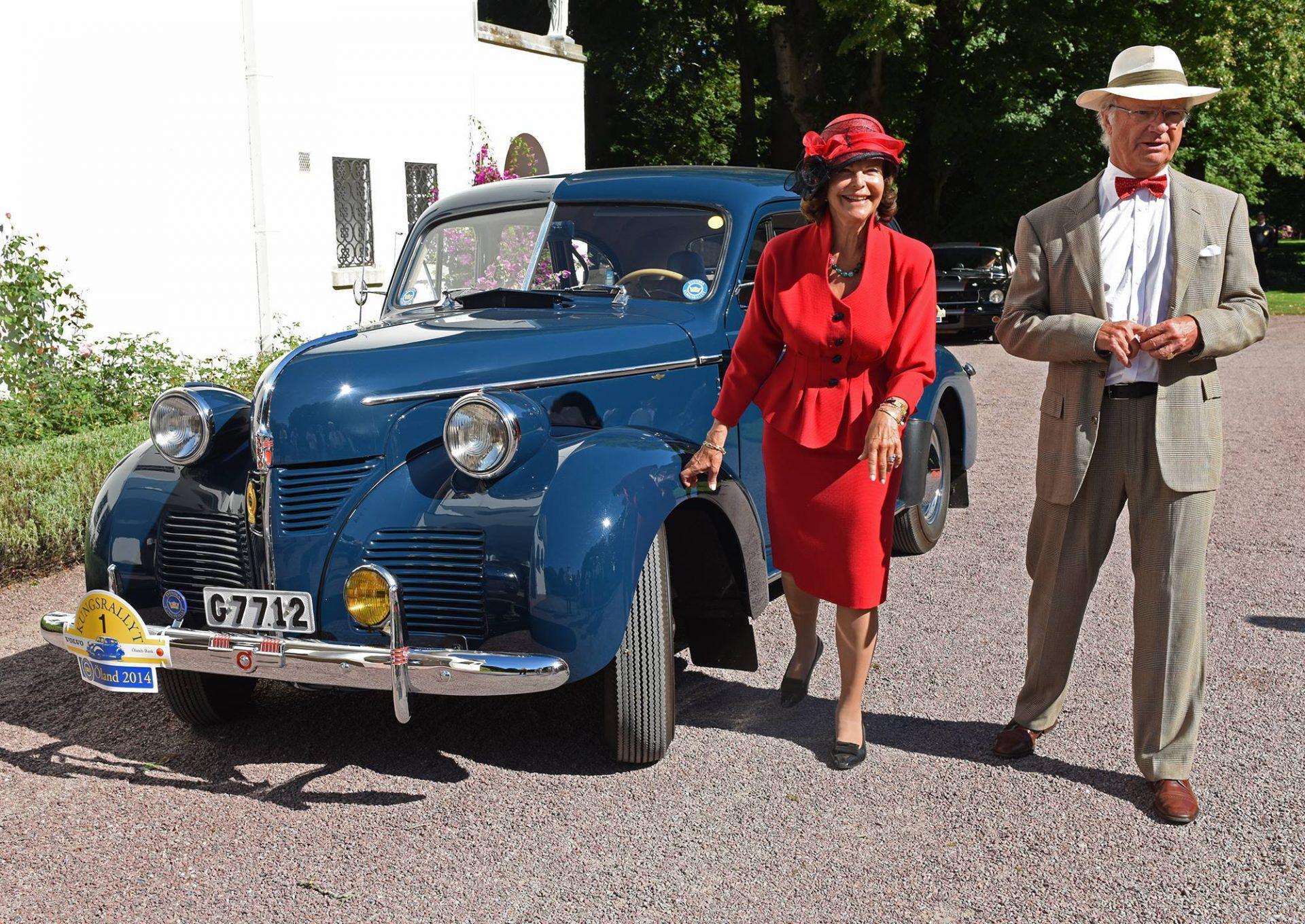 Svenska Kungsrallyt Königspaar