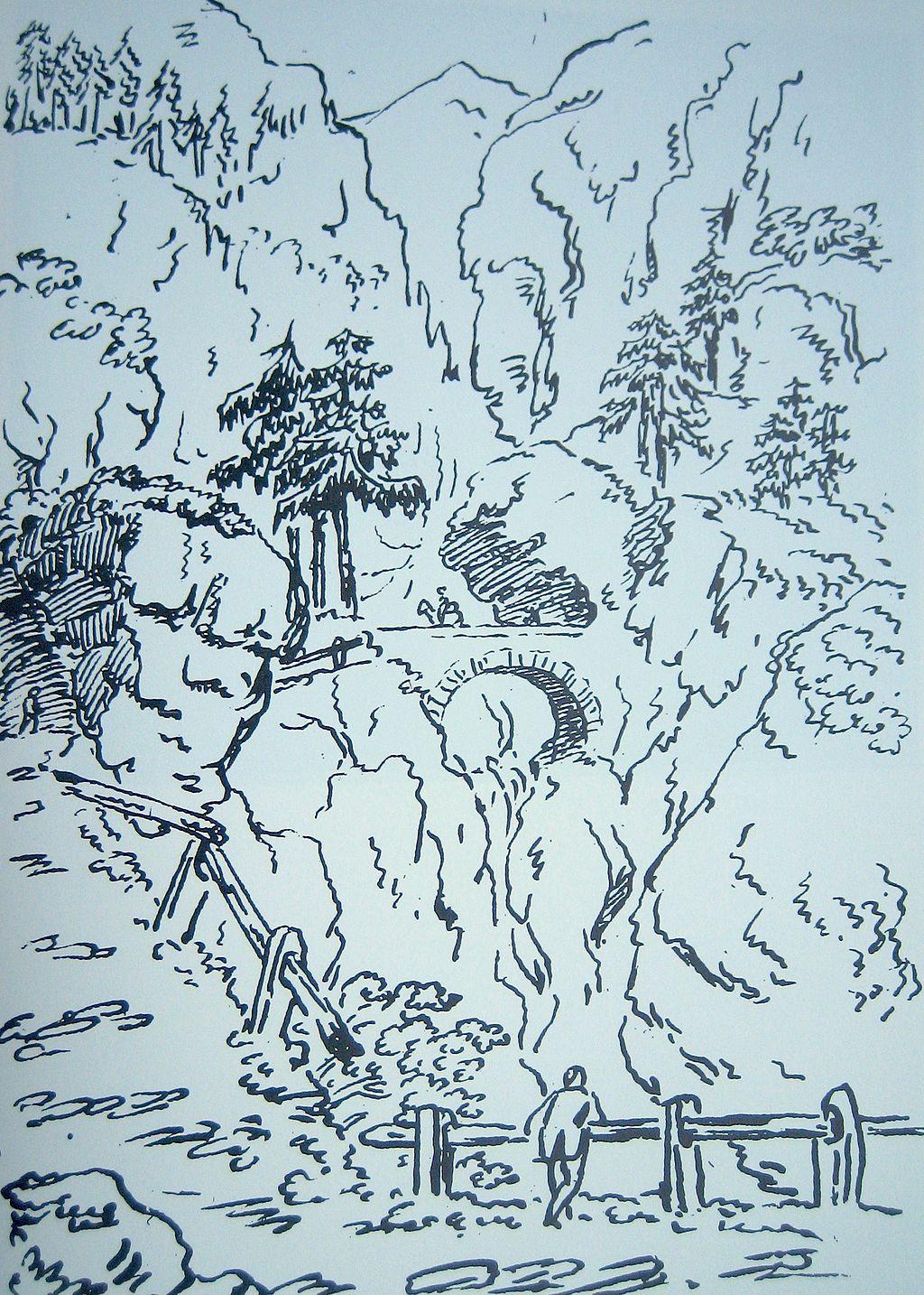 ViaMala_Zeichnung_JW_Goethe_1788
