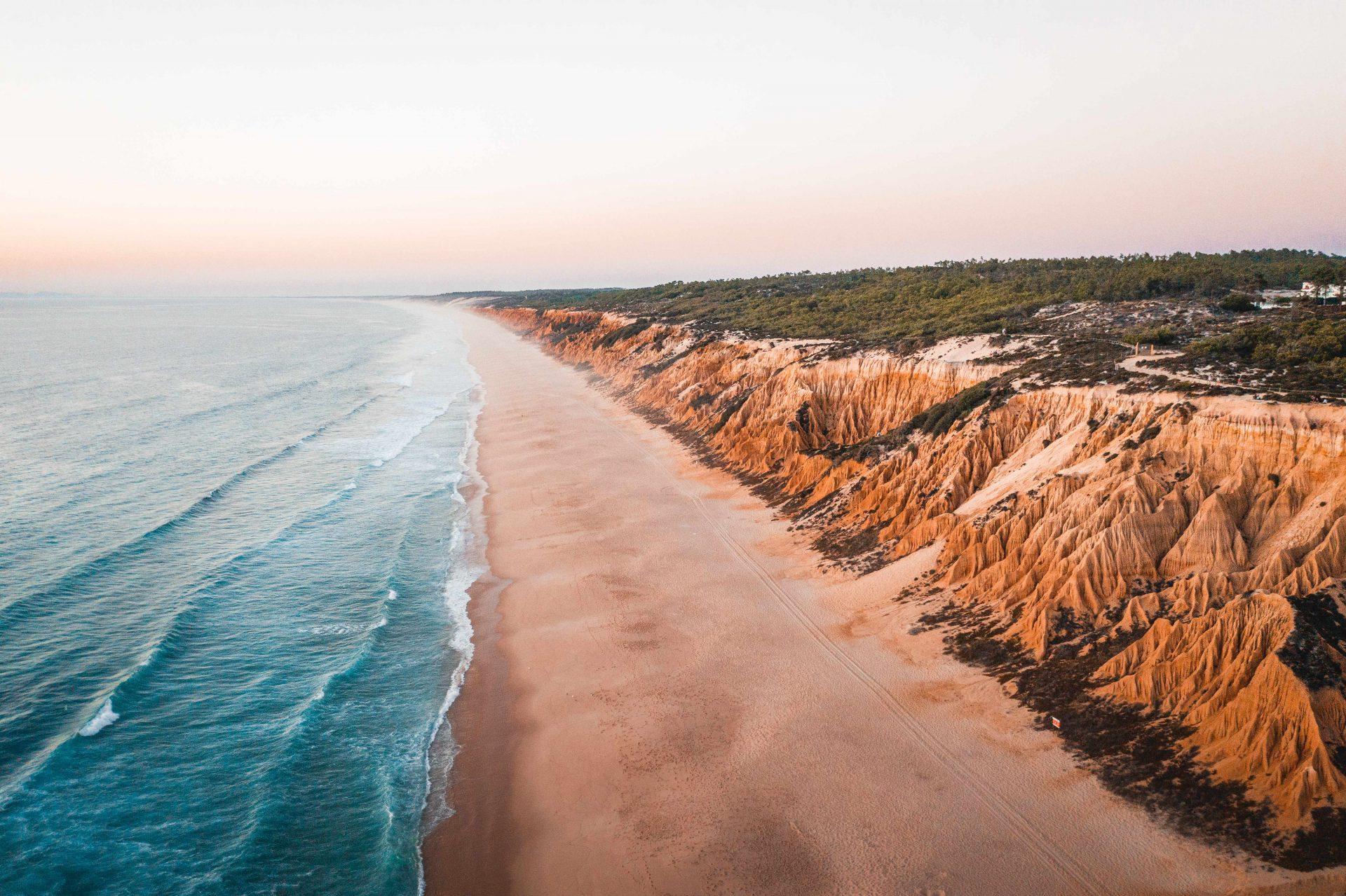 Surfspot Praia da Gale