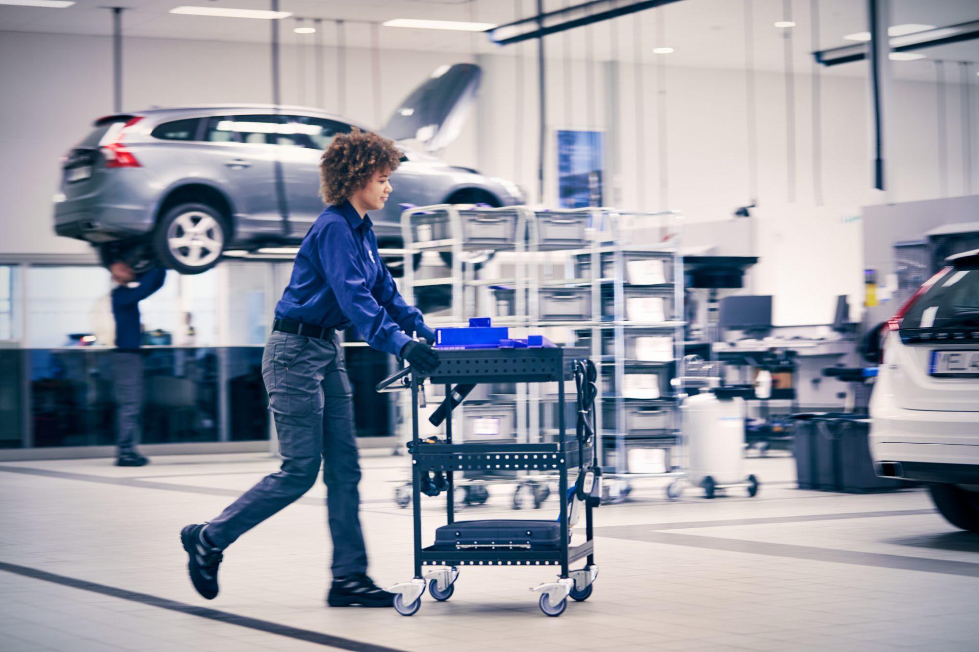 Volvo Customer Service Process, Retail_2018_36