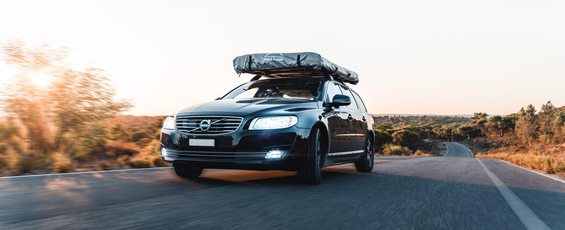 Volvo in Fahrt – Kopie