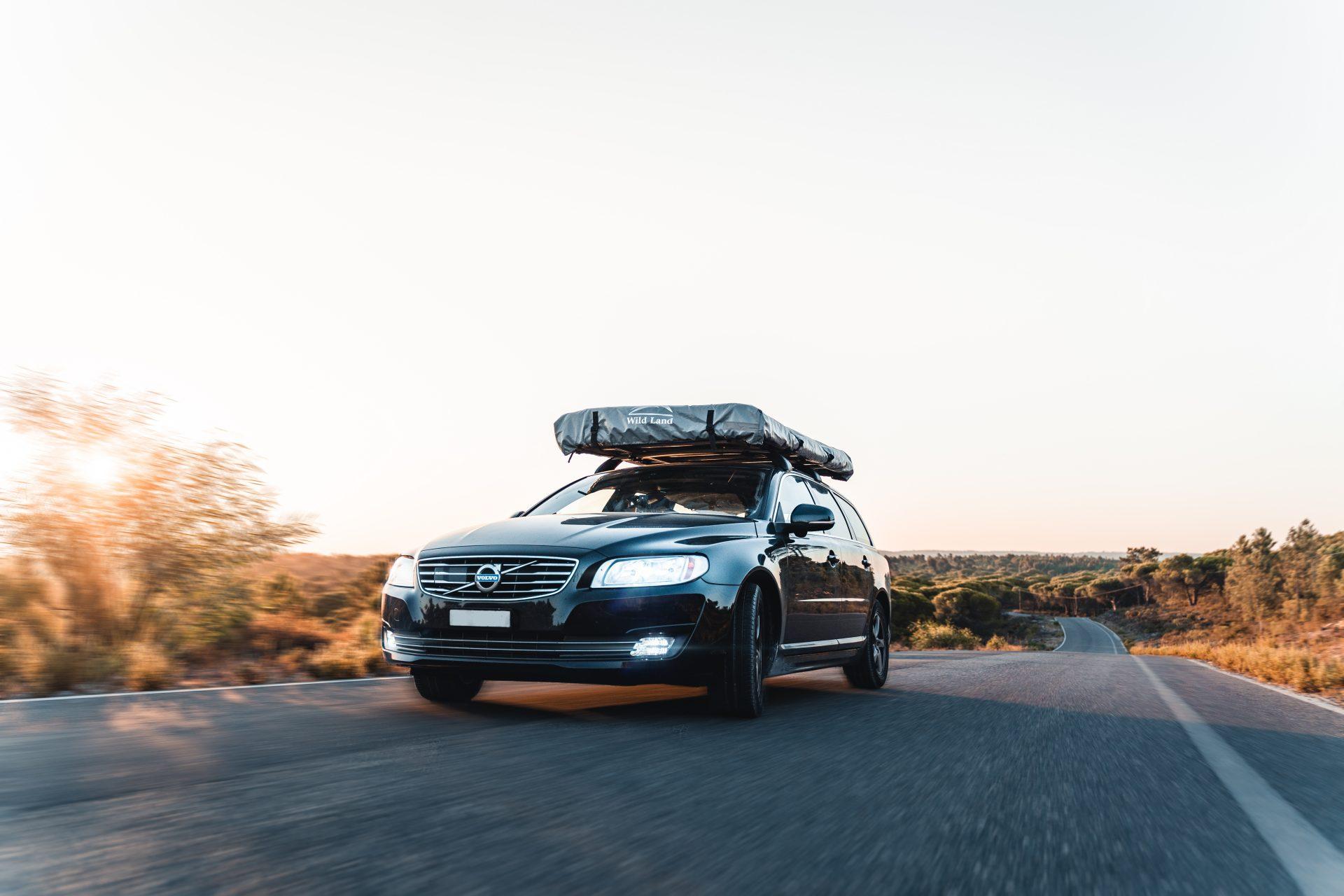 Volvo in Fahrt