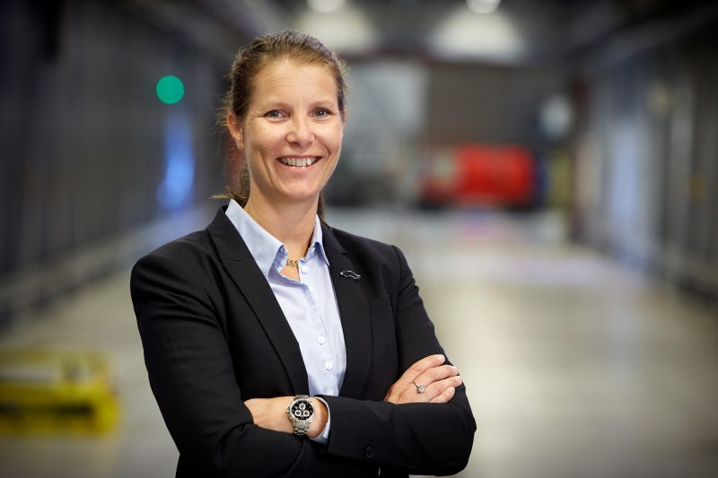 Malin Ekholm, Vice President, Volvo Cars Safety Centre