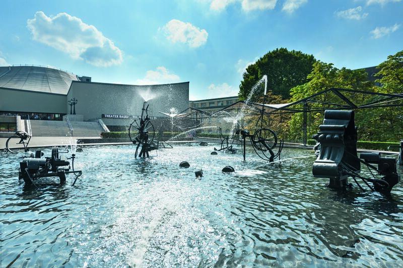 Tinguely-Brunnen Basel / Fasnacht Fountain Basel