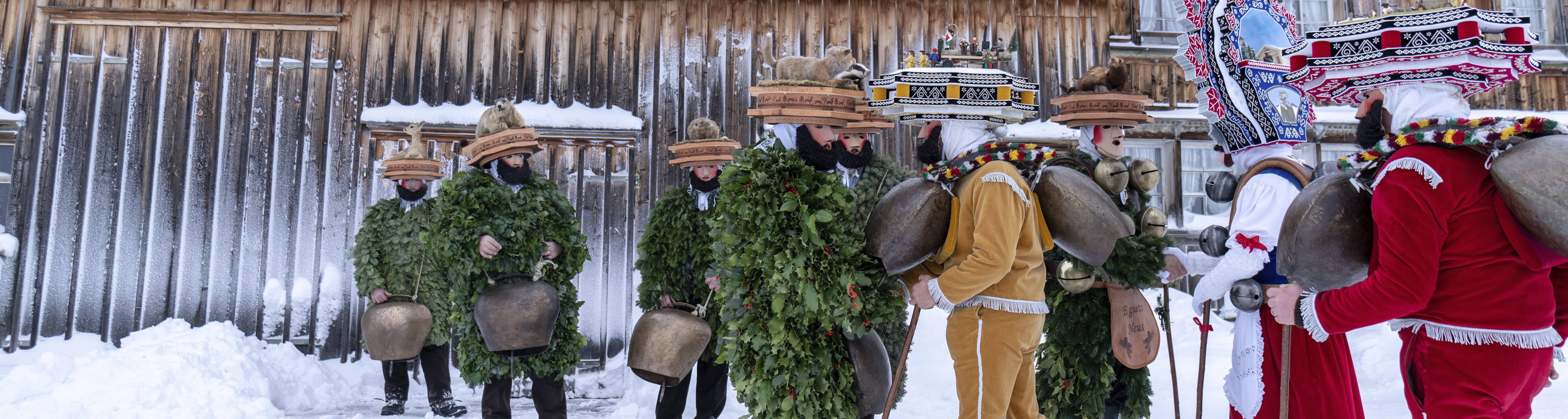 Fantastiska Stopp: le «Silvesterchlausen» du pays d'Appenzell devient numérique