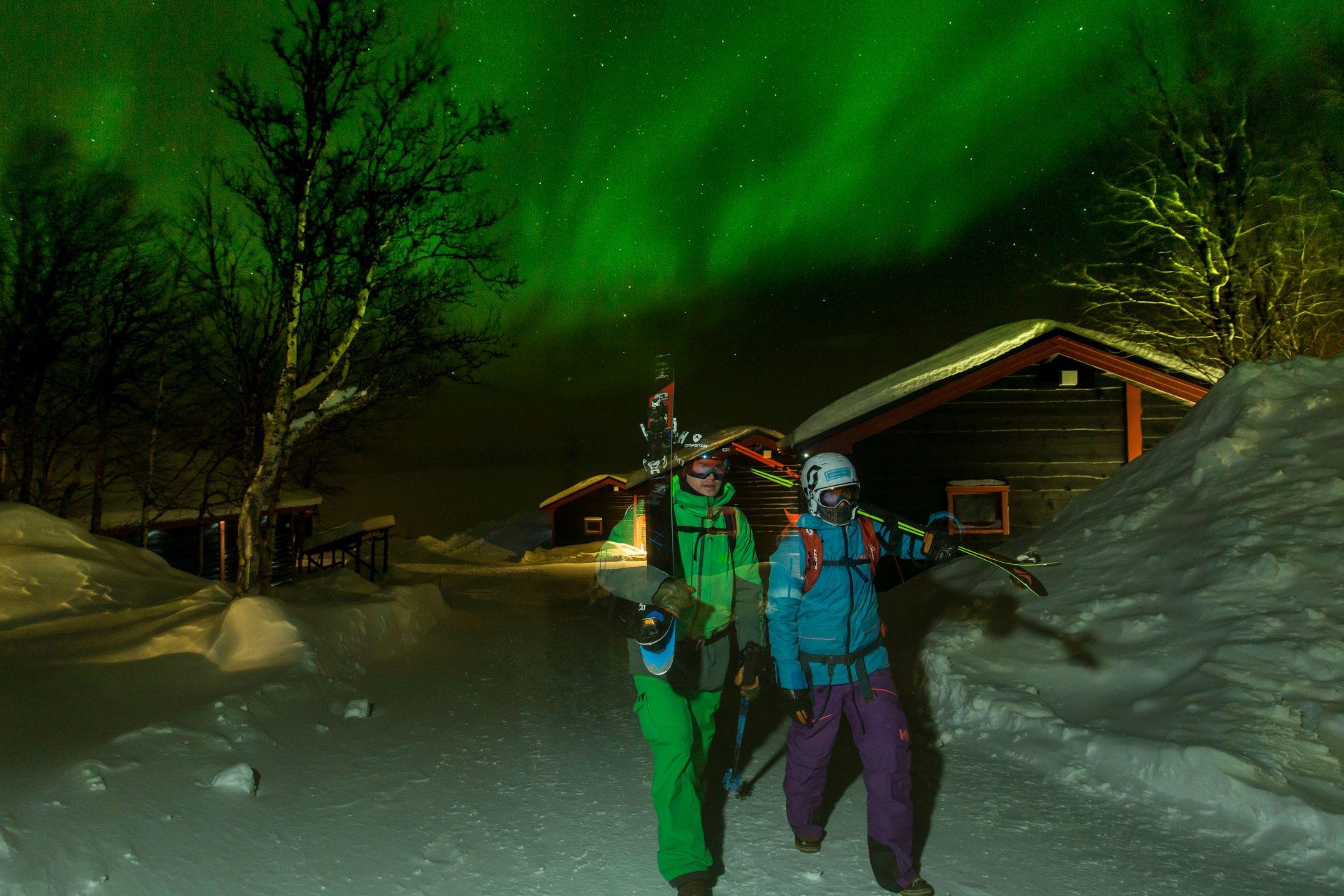 Jackie Paaso , Reine Barkered, Lapland sweden