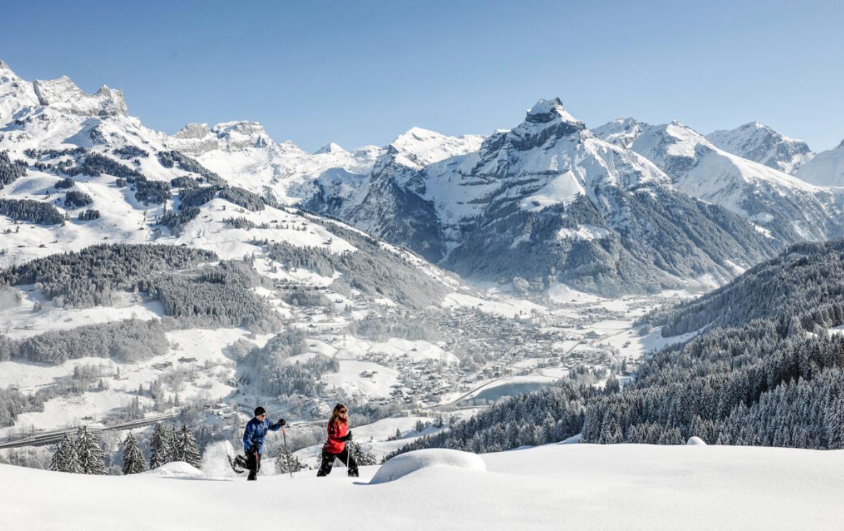 Volvo_Partner_Titlis_Schneeschuhlaufen