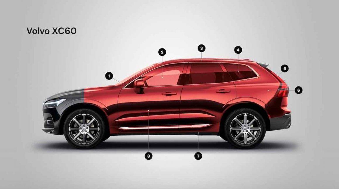 Volvo XC60 als Sonderschutzfahrzeug