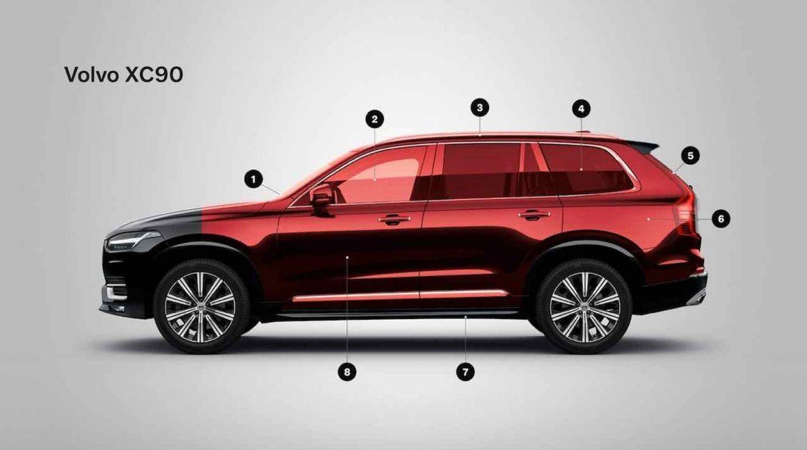 Volvo XC90 als Sonderschutzfahrzeug