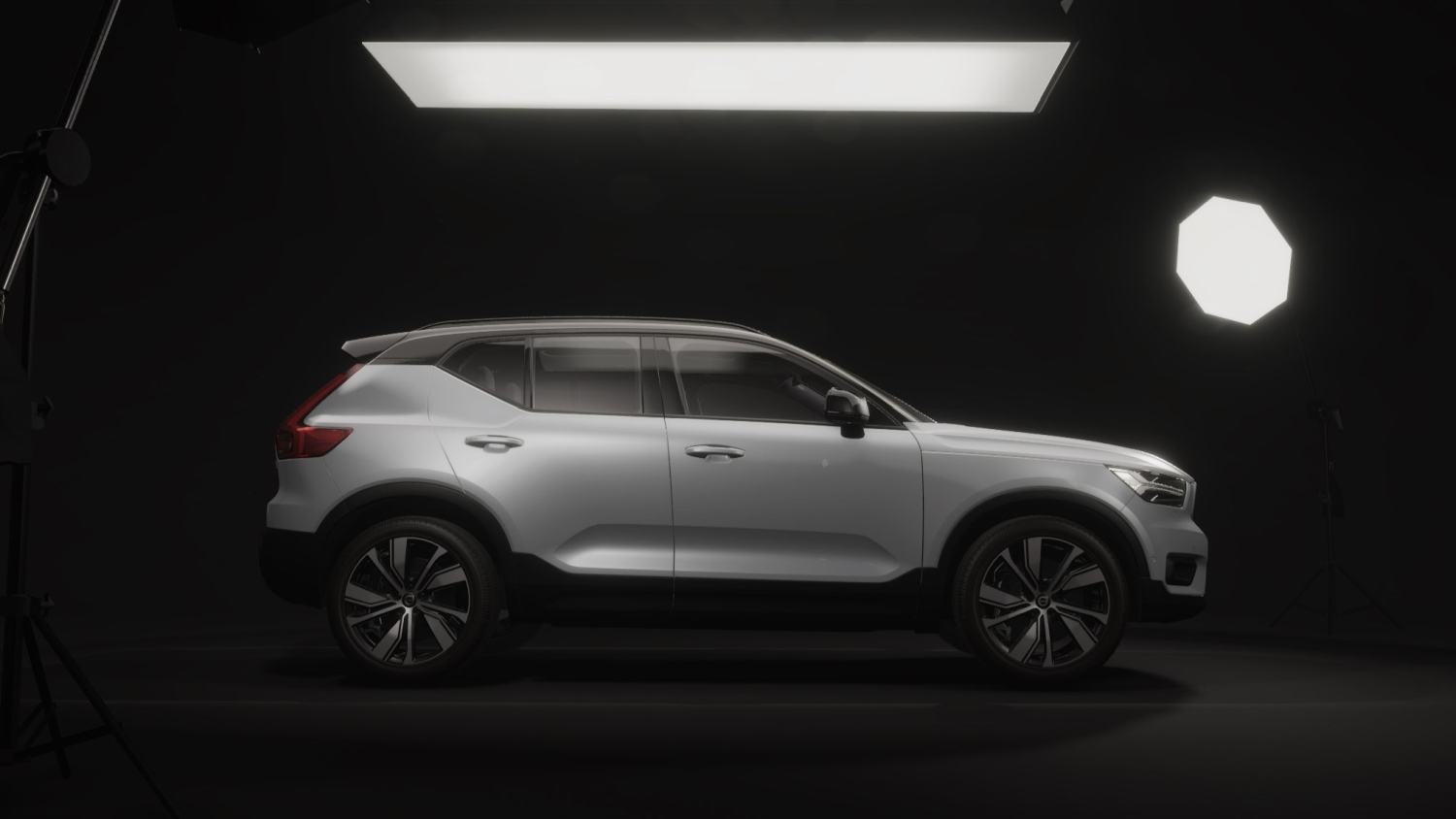 Volvo XC40 Recharge 3D Unity template