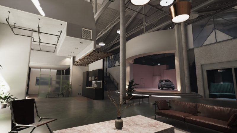Volvo Cars Auto Showroom 3D Unity Template