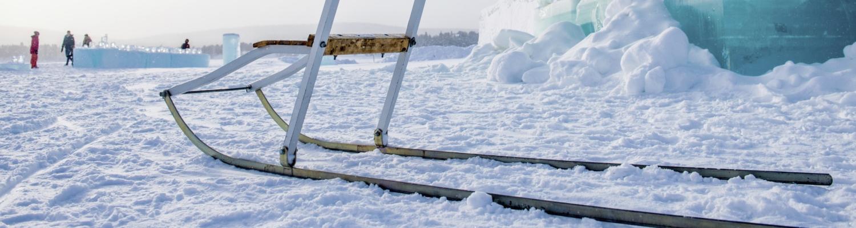 Le sparkstötting – un traîneau typiquement suédois