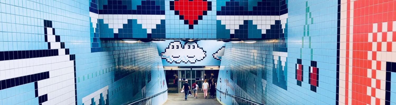 Stockholmer U-Bahn – die längste Kunstgalerie der Welt