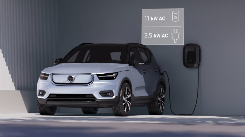 Volvo-XC40 Recharge – Battery Charging Still 02