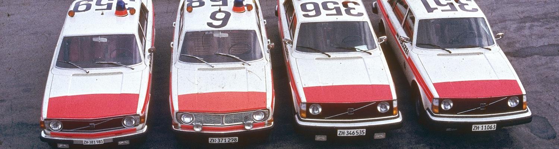 Seit bald sechzig Jahren fährt die KaPo Zürich Volvo