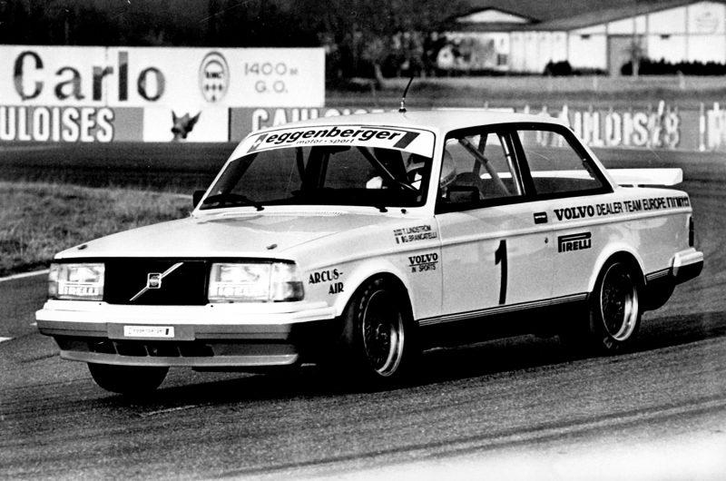 Volvo 240 Turbo in the European Touring Car Championship, 1985