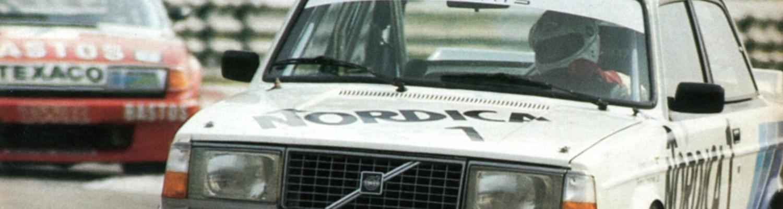 Volvo Racingteam-Serie: Das Comeback im fliegenden Ziegelstein