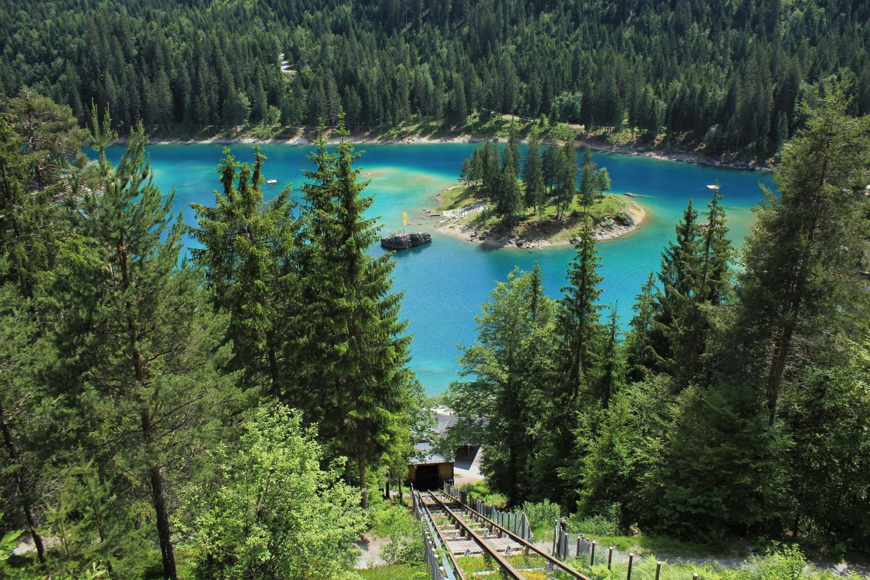 Unique Lake Cauma, Switzerland.