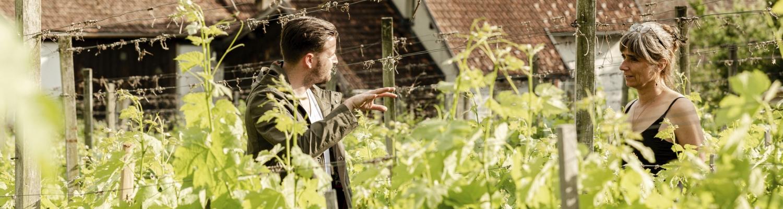 Pascal Schmutz «on the road»: Spontanbesuch bei der Bio-Weinbäuerin