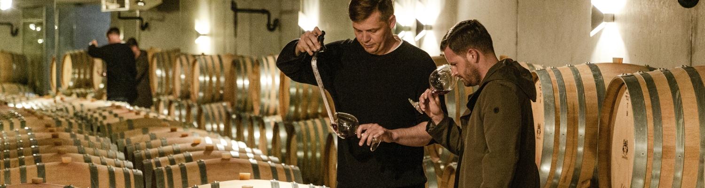 Pascal Schmutz «on the road»: Spontanbesuch beim Pinot-Noir-Weltmeister
