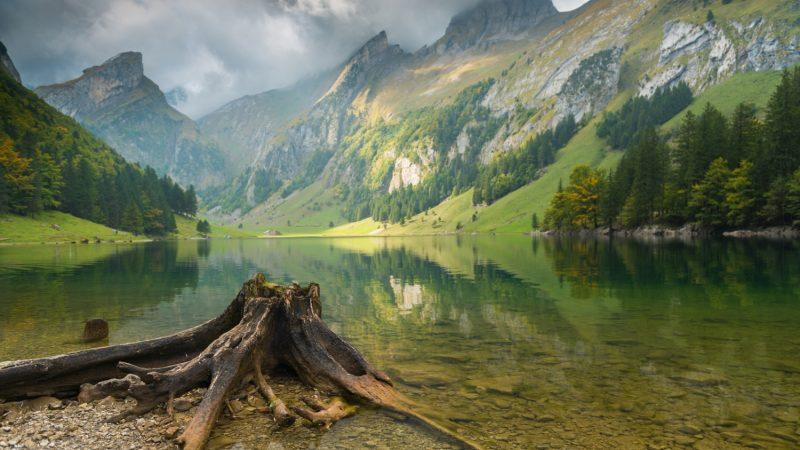 Seealpsee, Appenzell, Switzerland