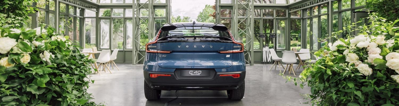 Schweizer Premiere des Volvo C40 Recharge Pure Electric im Garten Eden