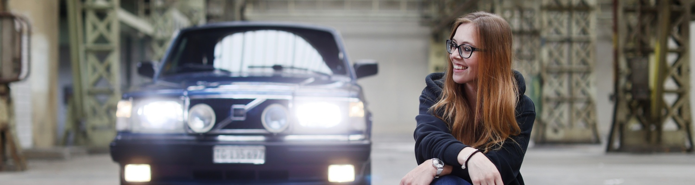 Ramona Beck – die wohl grösste Volvo Liebhaberin der Schweiz
