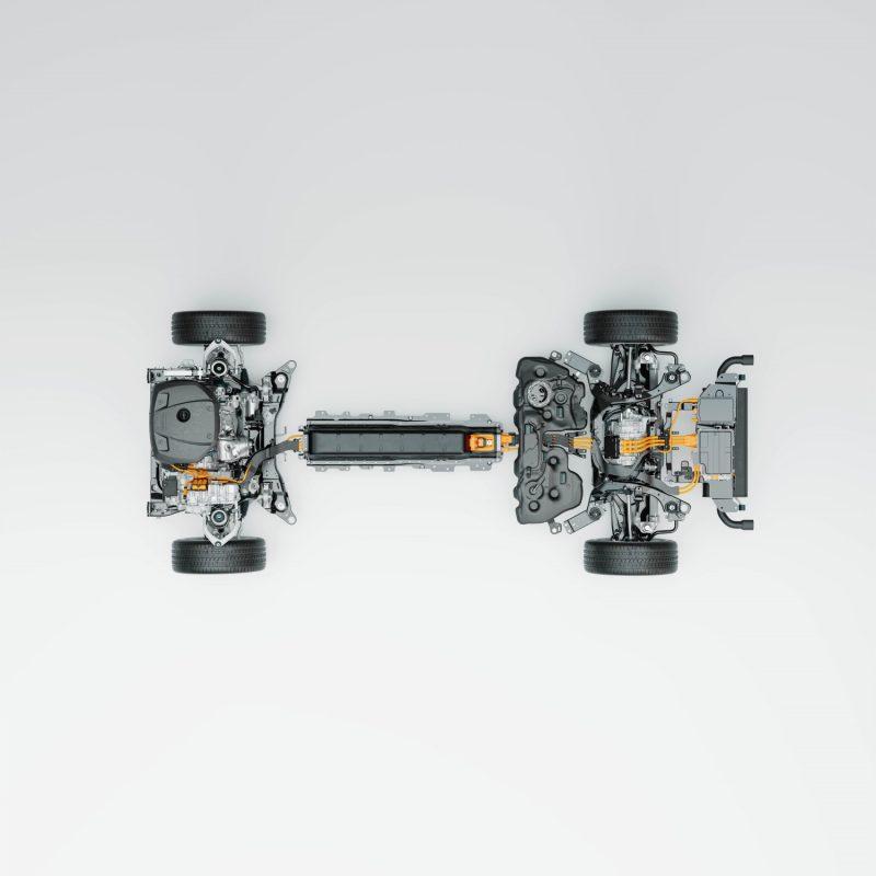 Volvo Cars' new Recharge plug-in hybrid powertrain